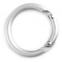 Zakačka aluminijska mat - okrugla   KH-186