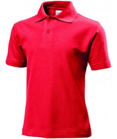Polo-majica s kratkim rukavima za djecu ST3200SRE (Scarlet Red)