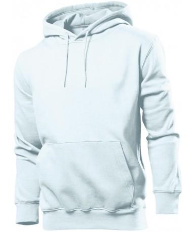Pamučna majica s kapuljačom za muškarce ST4100WHI (White)