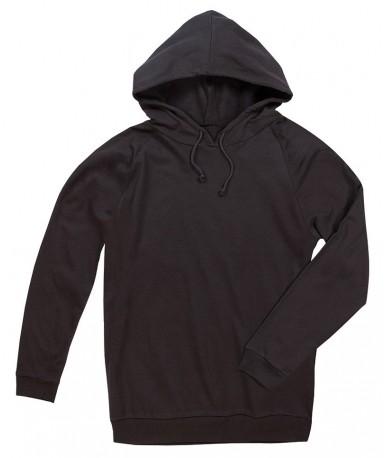 Majica s kapuljačom za muškarce i žene ST4200BLO (Black Opal)