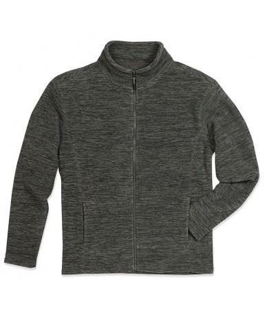Flis jakna za muškarce ST5060ANM (Anthra Melange)