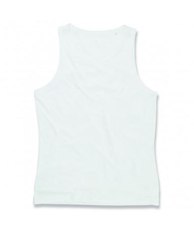 Majica bez rukava za muškarce ST8010WHI (White)