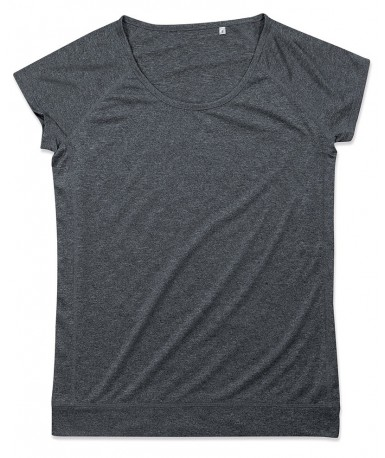 Majica s okruglim izrezom za žene ST8300ASP (Asphalt)