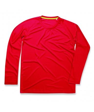 Majica s dugim rukavima za muškarce ST8420CSR (Crimson Red)