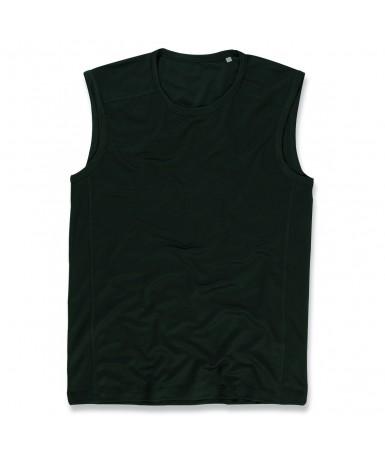 Majica bez rukava za muškarce ST8440BLO (Black Opal)