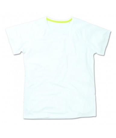Majica s okruglim izrezom za žene ST8500WHI (White)