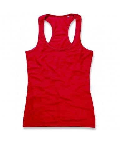 Majica bez rukava za žene ST8540CSR (Crimson Red)