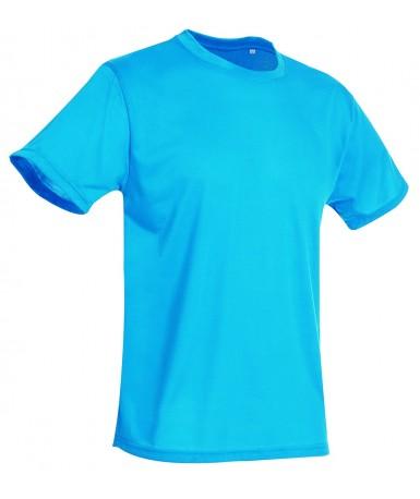 Majica s okruglim izrezom za muškarce ST8600HWB (Hawaii Blue)