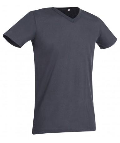 Majica s V-izrezom za muškarce ST9010SLG (Slate Grey)