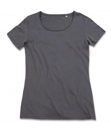 Majica s okruglim izrezom za žene ST9110SLG (Slate Grey)