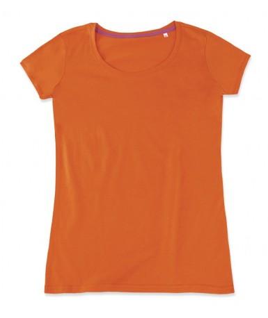 Majica s okruglim izrezom za žene ST9120PUM (Pumpkin)