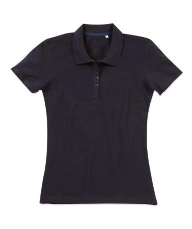 Polo-majica s kratkim rukavima za žene ST9150BLO (Black Opal)