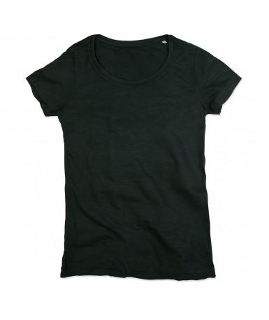 Majica s okruglim izrezom za žene ST9500BLO (Black Opal)