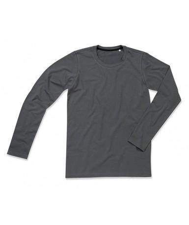 Majica s dugim rukavima za muškarce ST9620SLG (Slate Grey)