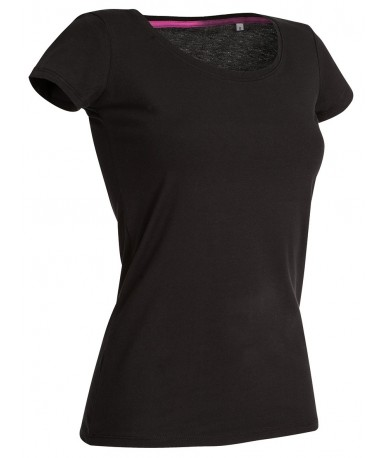 Majica s okruglim izrezom za žene ST9700BLO (Black Opal)