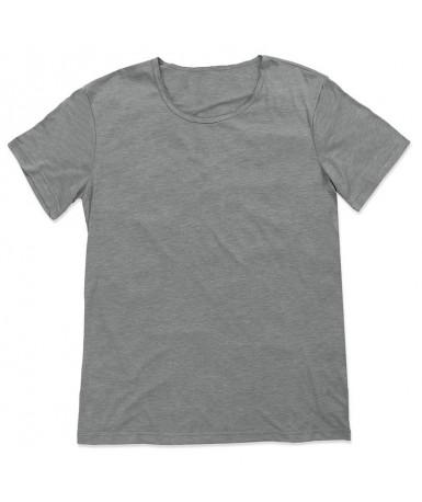 Široka majica s okruglim izrezom za muškarce ST9850VGR (Vintage Grey)