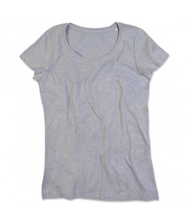 Majica s okruglim izrezom za žene ST9900GYH (Grey Heather)