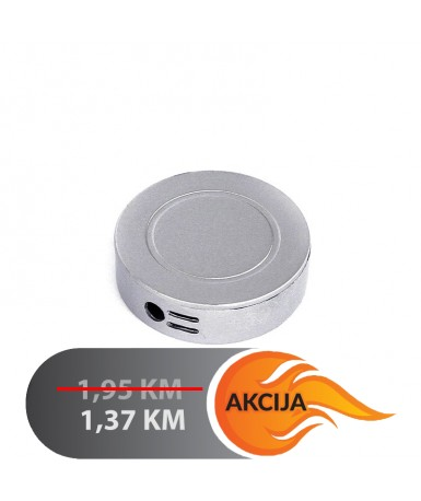 Upaljač metalni, okrugli | 6000-O2