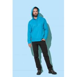 ST5800 | Flis pulover s kapuljačom za muškarce