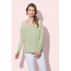 ST9560 | Široka majica s dugim rukavima za žene