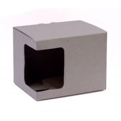 Kartonska kutija za šalice, natural (6oz) | KT3