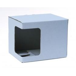 Kartonska kutija za šalice, bijela (6oz) | KT4