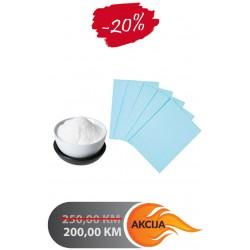 Termo set, prah i papir za sublimaciju A3, 250 listova | T27