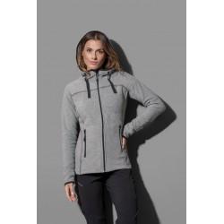 ST5120 | Flis jakna s kapuljačom za žene