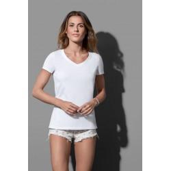 ST9310 | Majica s V-izrezom za žene