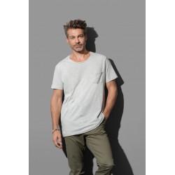 ST9450 | Široka majica s okruglim izrezom za muškarce