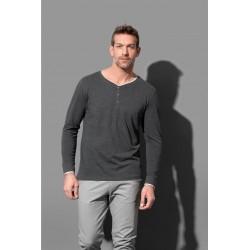 ST9860 | Majica dugih rukava s gumbima za muškarce