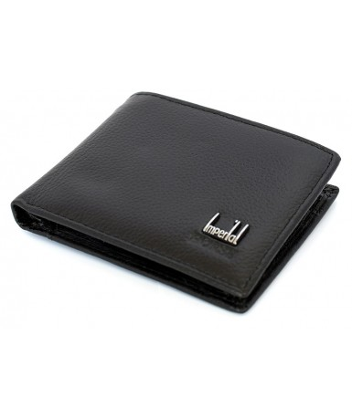Novčanik kožni, crni N100/CR