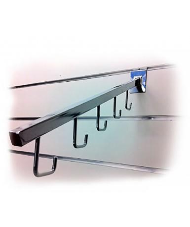 Panel zidni MDF i PVC SLATWALL   MDF-PVC