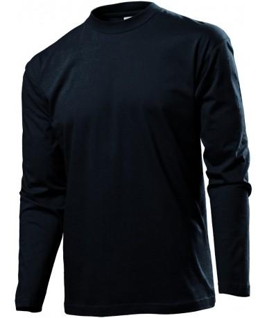 Majica s dugim rukavima za muškarce ST2500BLO (Black Opal)