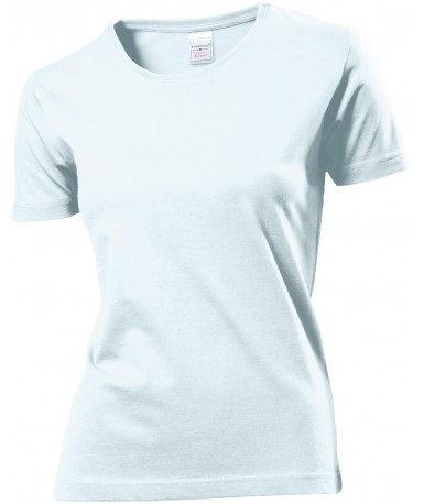 Majica s okruglim izrezom za žene ST2600WHI (White)
