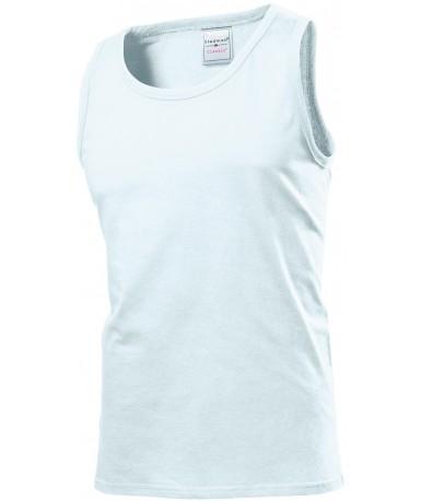 Majica bez rukava za muškarce ST2800WHI (White)
