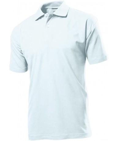 Polo-majica s kratkim rukavima za muškarce ST3000WHI (White)